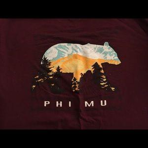 Tops - Phi Mu shirt